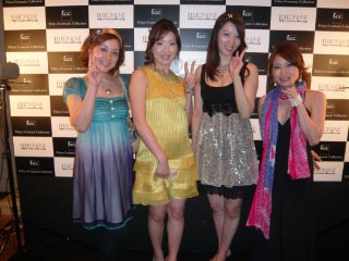 【party style + something gold】